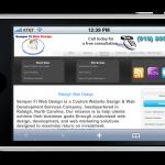 iPhone Semper Fi Web Design