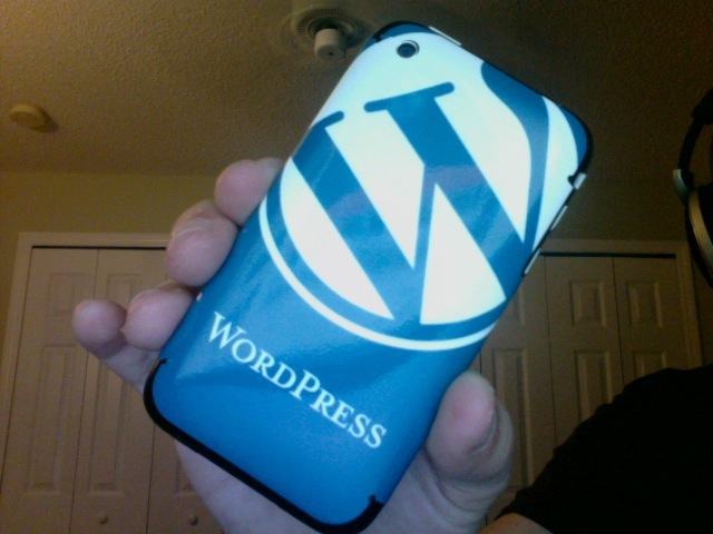 iPhone 3G WordPress Skin