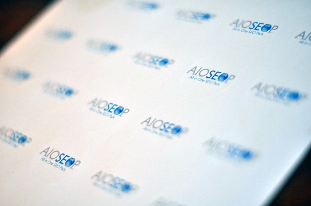 All in One SEO Pack stickers