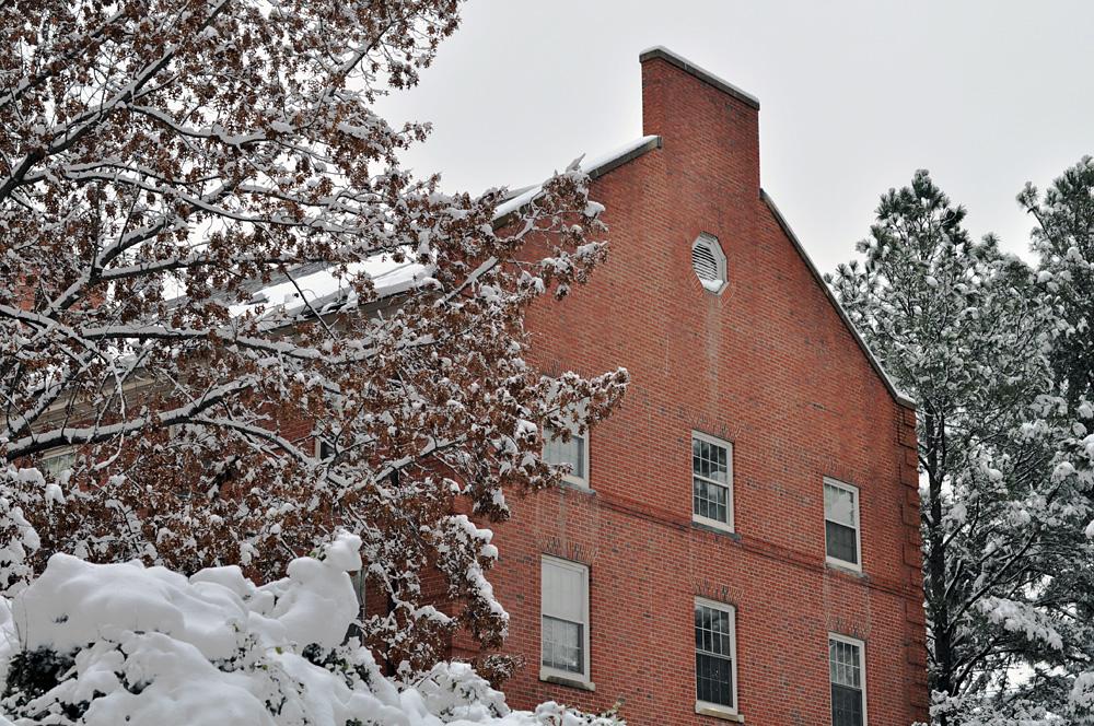 NCSU snow