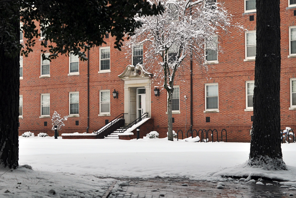 NC State snowed in