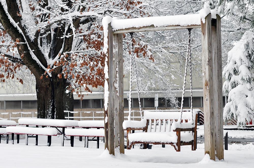 snow swing